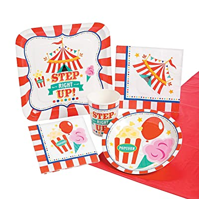 CARNIVAL PARTY PACK (57PC) - Party Supplies - 57 Pieces: Toys & Games