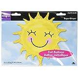 "Anagram International 2451901 Sunshine Sun Shape Balloon Pack, 29"""
