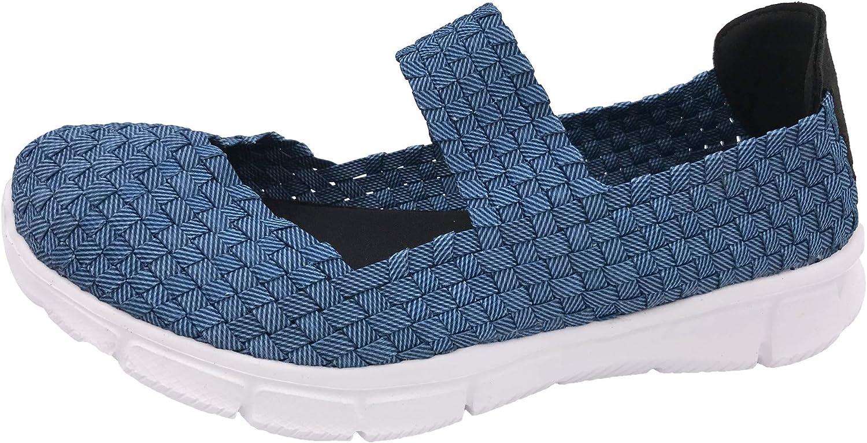 Flex Halbschuhe Schwarz Schuhe geflochten