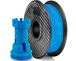 LONENESSL 3D PLA Printer Filament 1.75mm 1KG Spool Printer Filament Bundle, Dimensional Accuracy +/- 0.02 mm Printer Consumab