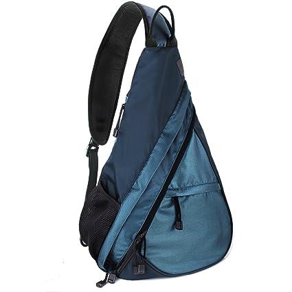 24fc2ae3589 Unigear Shoulder Chest Crossbody Sling Bag Pack Backpack for Men Women  Girls Boys (Blue)