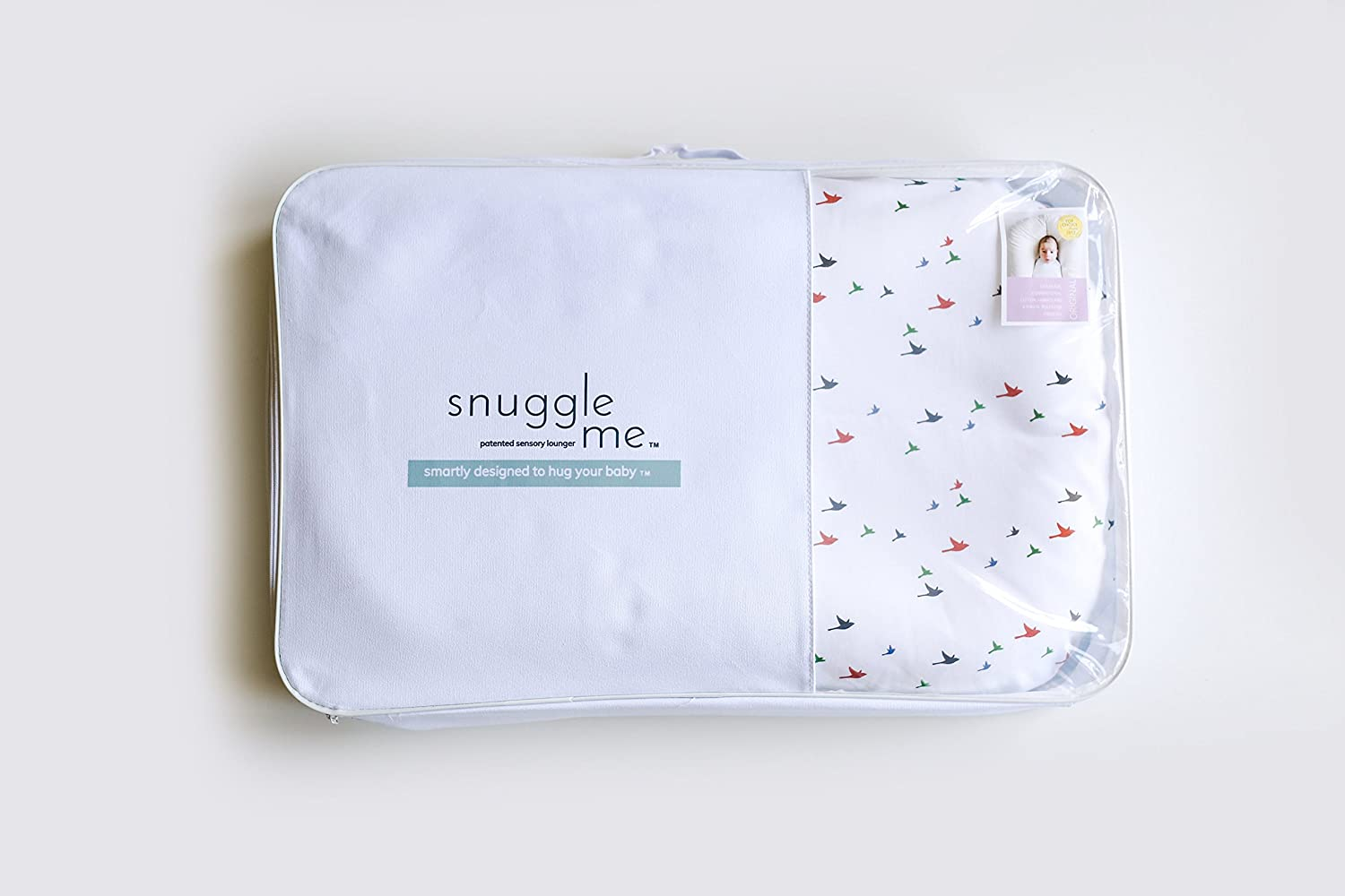 Amazon.com : Snuggle Me Organic | Patented Sensory Lounger For Baby ...
