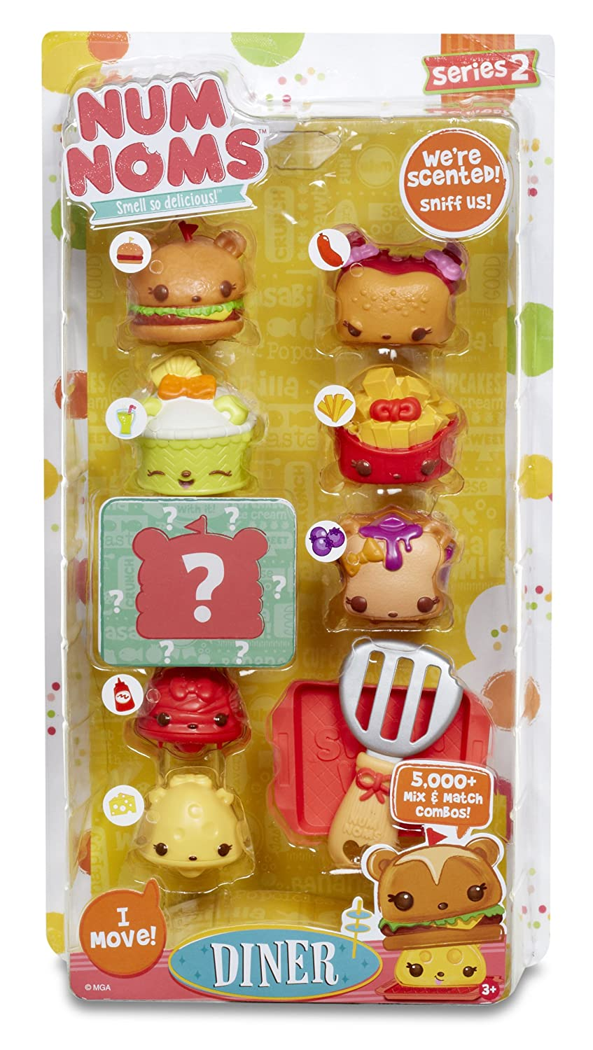 Amazon Com Num Noms Series 2 Scented 8 Pack Diner Toys Games