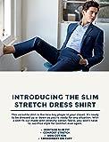 Original Penguin Men's Slim Fit Spread Collar