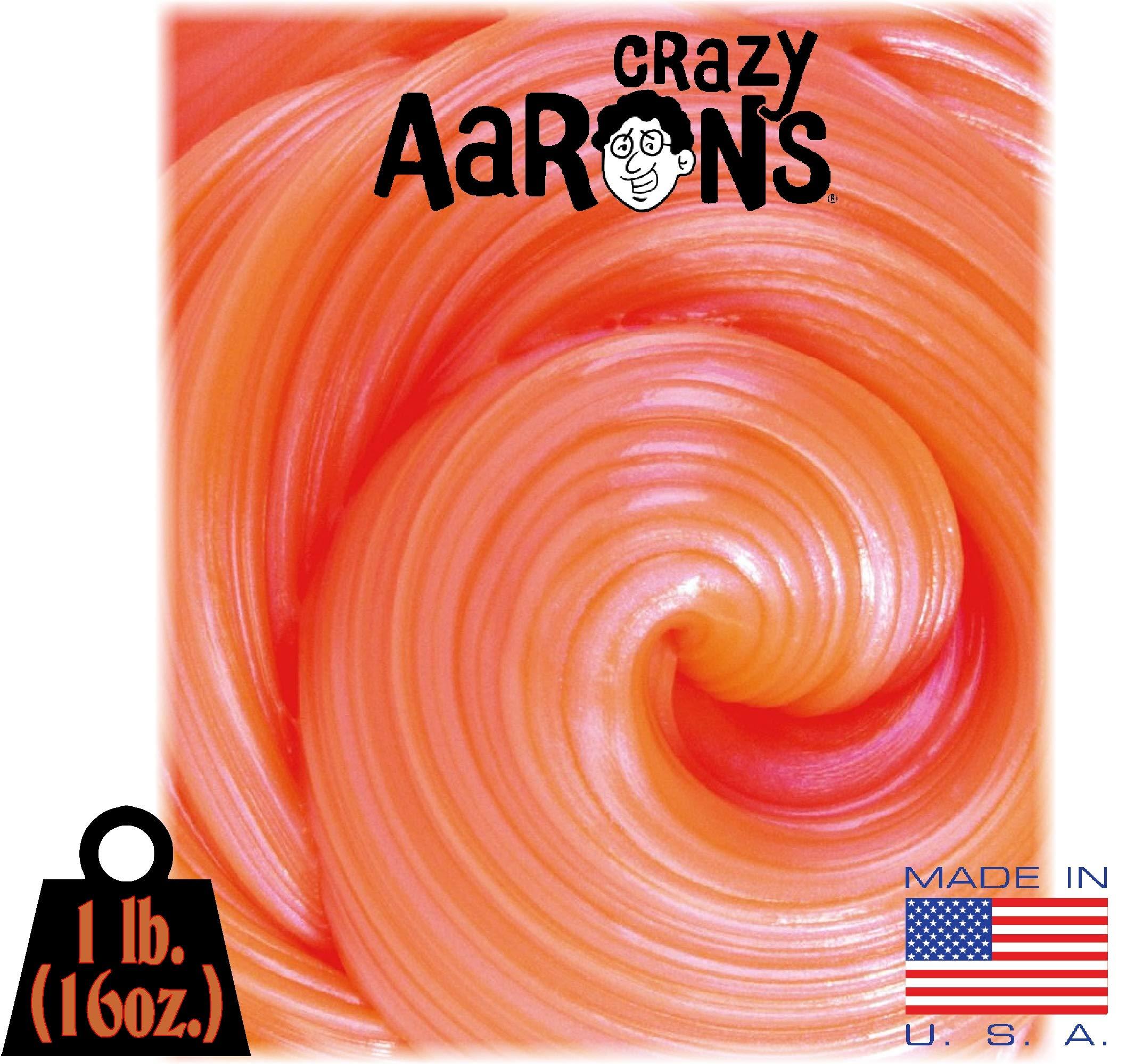 Crazy Aaron's Electric Thinking Putty MEGA Tin Neon Flash - 1 Pound (.16oz) by Crazy Aaron's (Image #2)