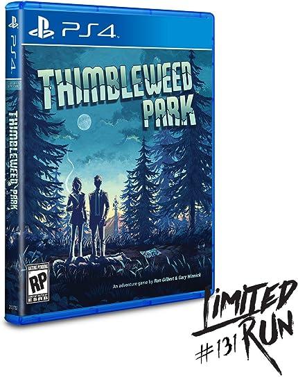 Thimbleweed Park (PS4): Video Games - Amazon com