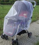 Mosquito Net Stroller Infants Baby Safe Mesh White Bee Insect Bug Cover