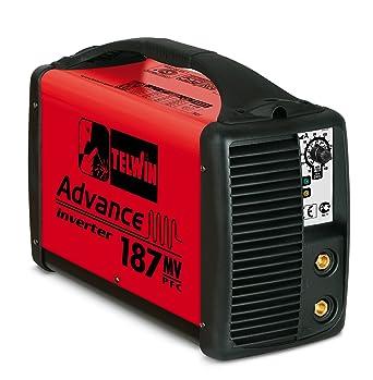 Telwin Advance 187 MV/PFC - Soldadora electrodos MMA inverter