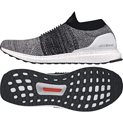 ab8a77ea2 Adidas Men s Ultraboost Laceless Ftwwht Ftwwht Cblack Running Shoes - 8 UK  India