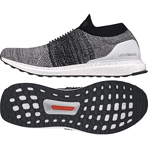 5d6957efab68 Adidas Men s Ultraboost Laceless Ftwwht Ftwwht Cblack Running Shoes - 8  UK India