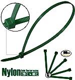 WEEGCN 100 Pcs Nylon Cable Zip Ties - Heavy Duty