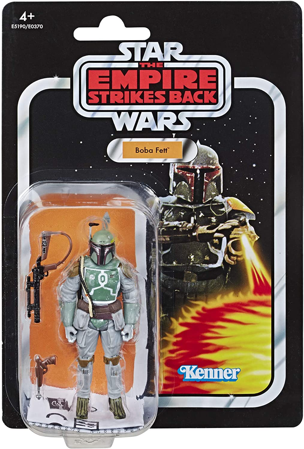 Amazon Com Star Wars The Vintage Collection Episode V The Empire Strikes Back Boba Fett 3 75 Scale Action Figure Collectible Toys Games