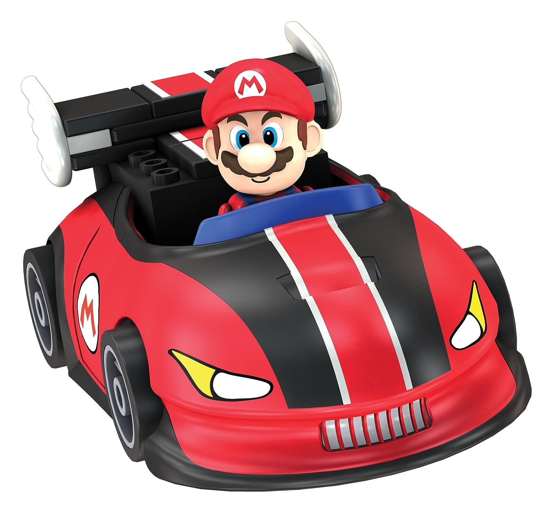 Donkey kong mario kart wii car tuning - Amazon Com Nintendo Mario And Yoshi Finish Line Building Set Toys Games