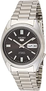 Seiko 5 Automatic Gents Stainless Steel Watch, Black Dial - SNXS79J1 - (Made in Japan) by Seiko Watches