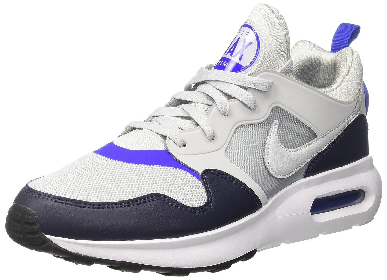 Nike Herren Air Max Prime Gymnastikschuhe  46 EU|Silber (Pure Gris Platinum/Pure Gris Platinum-racer Blue-o)
