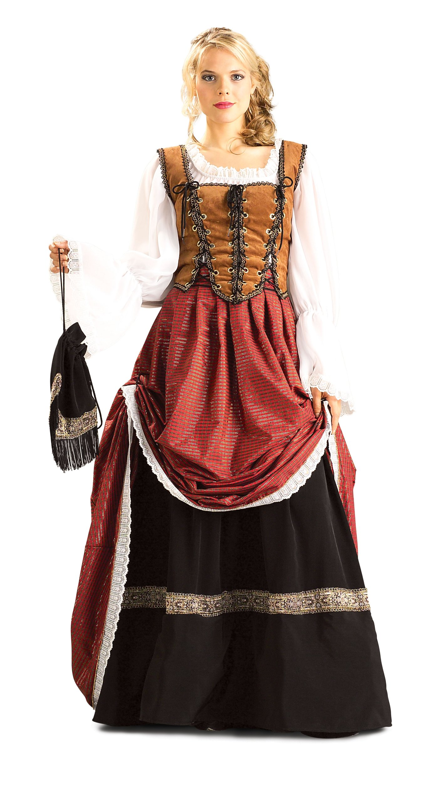 Rubie's Costume Grand Heritage Collection Deluxe Brigadoon Costume, Brown, Medium