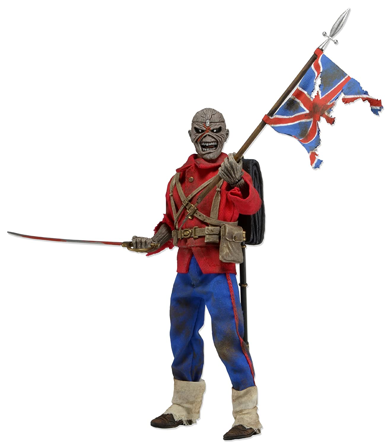 Iron Maiden 8-inch Eddie Trooper Clothed Action Figure: Amazon.co.uk ...