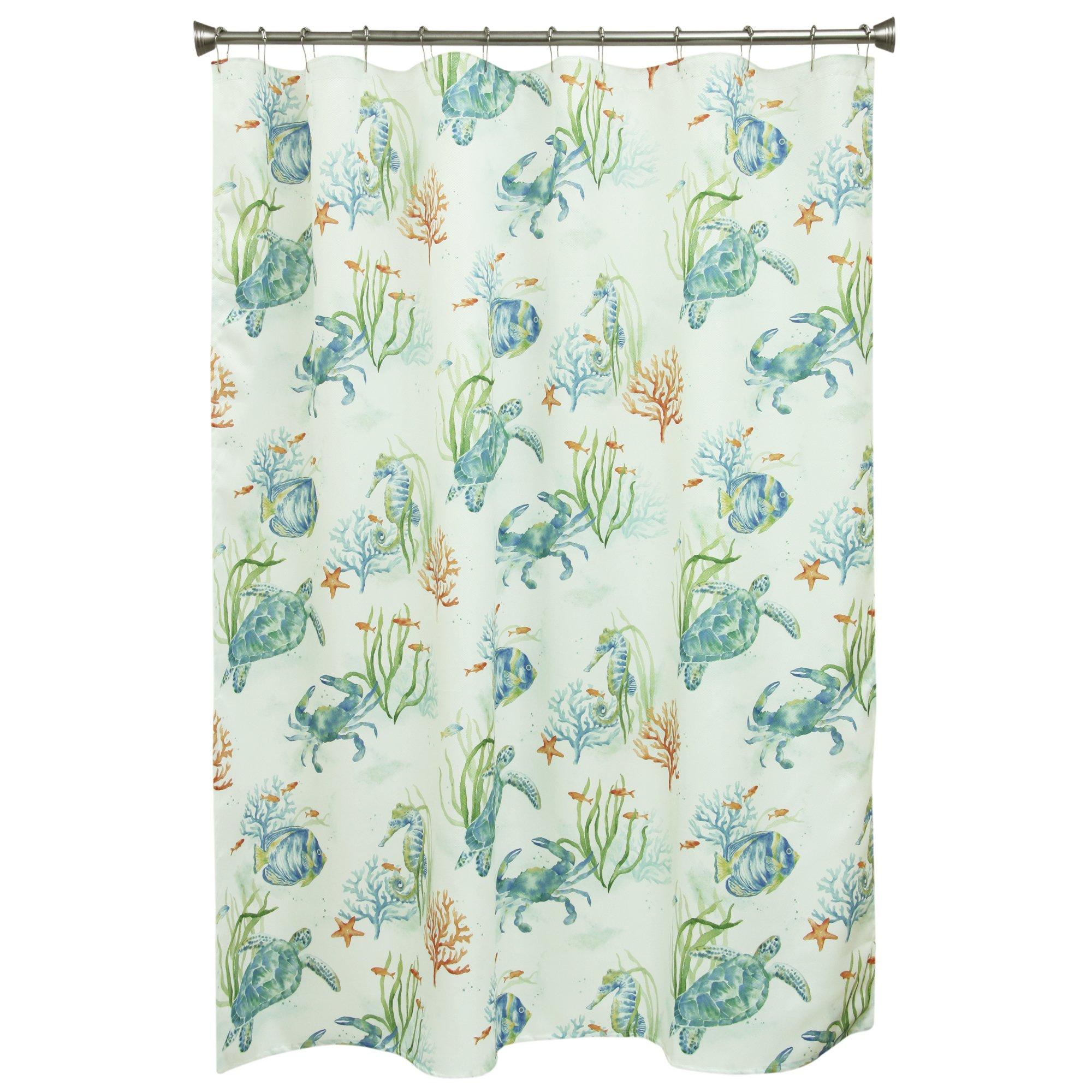 Bacova Guild 10787 Shower Curtain, Multicolor