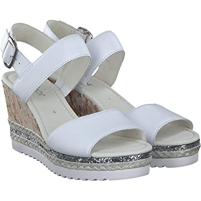 4d864f3b0ad3 Gabor Women s Fashion Wedge Heels Sandals  Amazon.co.uk  Shoes   Bags