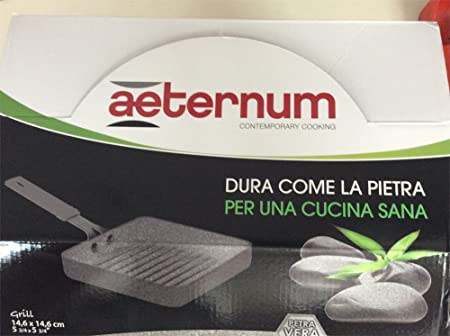 Petra Dura Come La Pietra.Bialetti Madame Petra Grill Minicookware Aluminium Grey