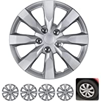 $21 » BDK Wheel Guards – (4 Pack) Hubcaps for Car Accessories Wheel Covers Snap Clip-On Auto…
