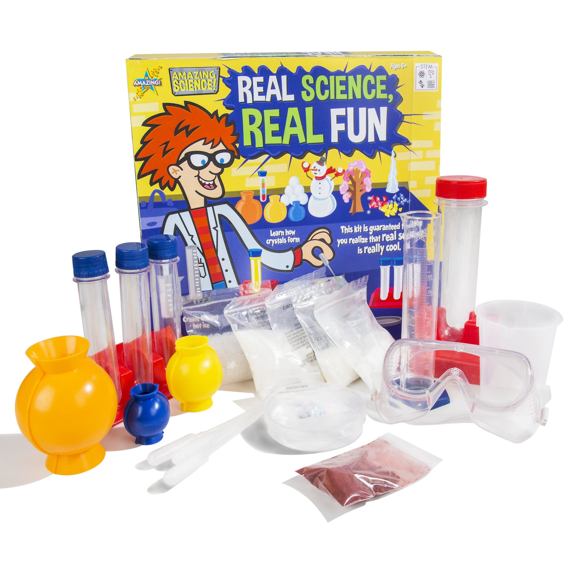 Be Amazing! Toys Real Science, Real Fun Science Kit by Be Amazing! Toys