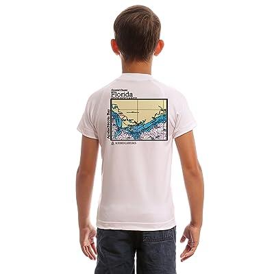 Altered Latitudes Coastal Classics Apalachicola Bay Youth UPF 50+ UV/Sun Protection Rash Guard