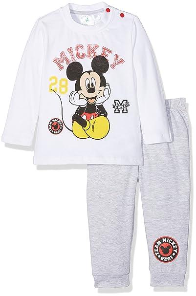 Disney 160922, Conjuntos de Pijama para Bebés, (Blanc), 0-3