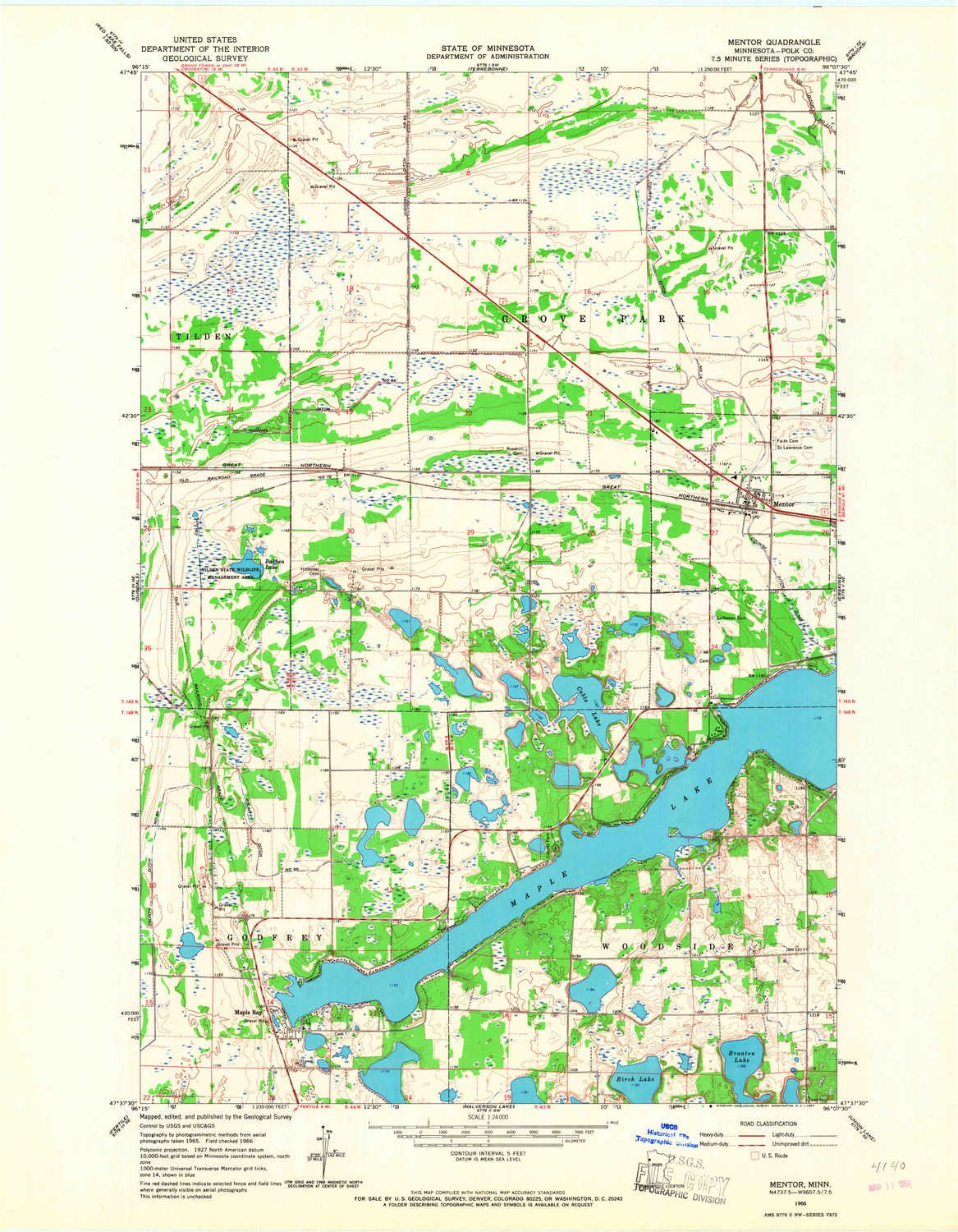 Amazon Com Yellowmaps Mentor Mn Topo Map 1 24000 Scale 7 5 X 7 5