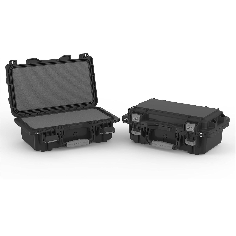 Plano Mil-Spec Field Locker Single Pistol Case, Black, Large 109150