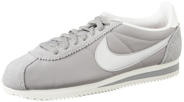 Nike Schuhe – – – Classic Cortez Nylon Prem grau Silber weiß 04a79d
