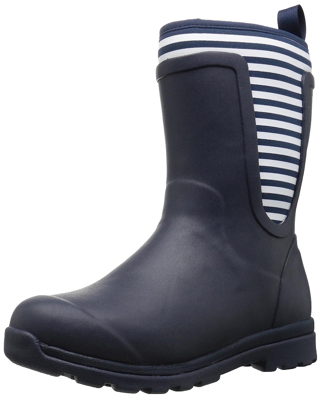 Muck Boot Women's Cambridge Mid Snow B01N7SFDJE 7 B(M) US|Navy With White Stripe