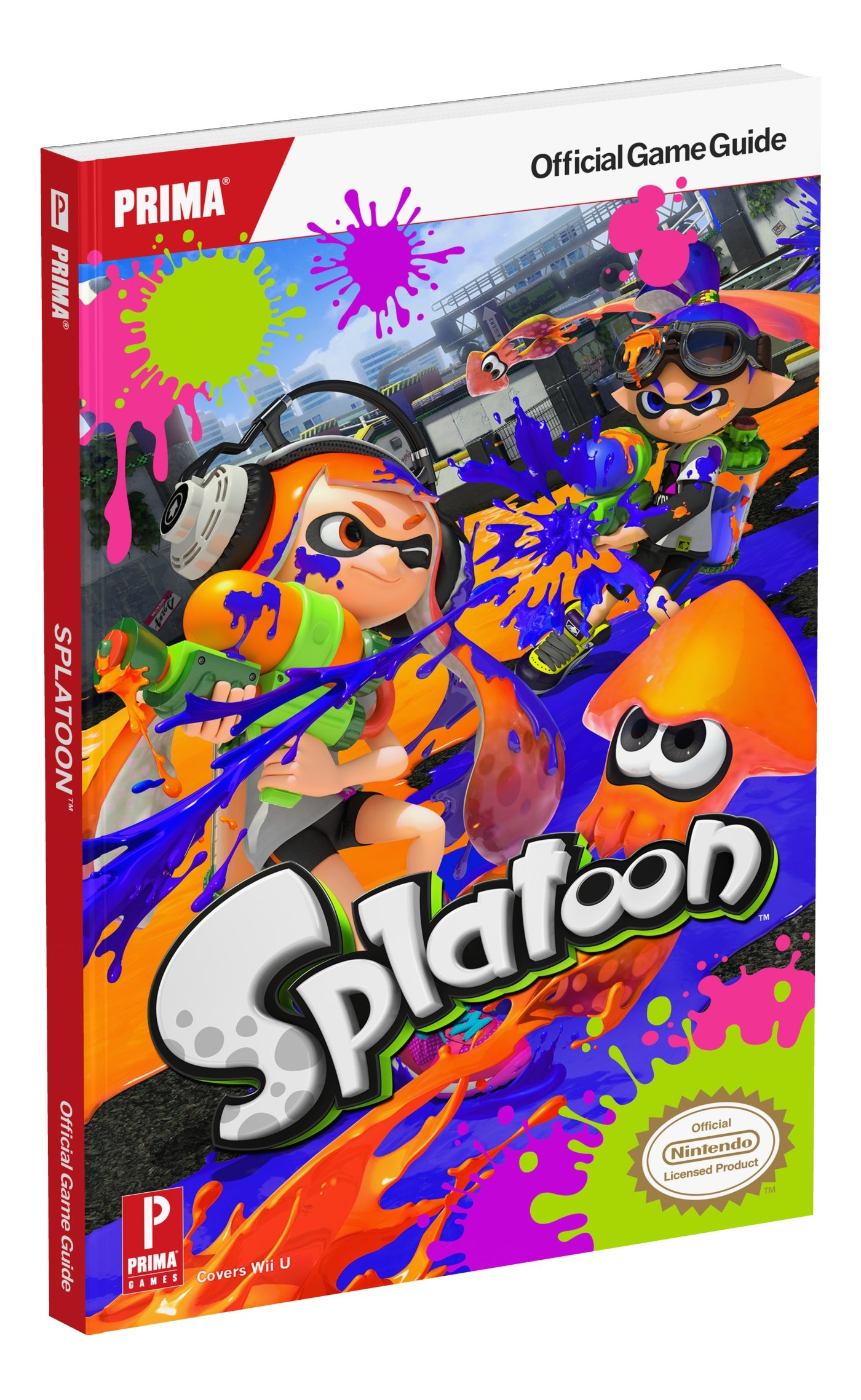 splatoon prima official game guide david knight 9781101898505 rh amazon com Prima Guide Zelda Chest Sets Prima Games Wall-E