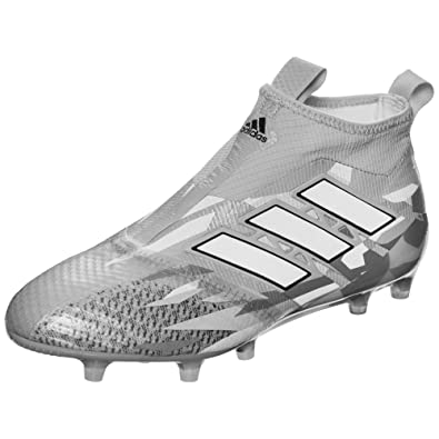 d6d08ebe0d9 Ace 17+ Pure Control FG Football Boots - Clear Grey White Core Black - Size  8  Amazon.co.uk  Shoes   Bags