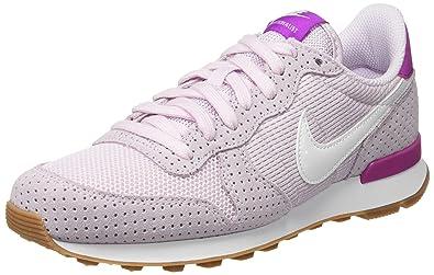 Lilac Nike Basses Sneakers Internationalist bleached Femme Blanc 7w7PRrxBn