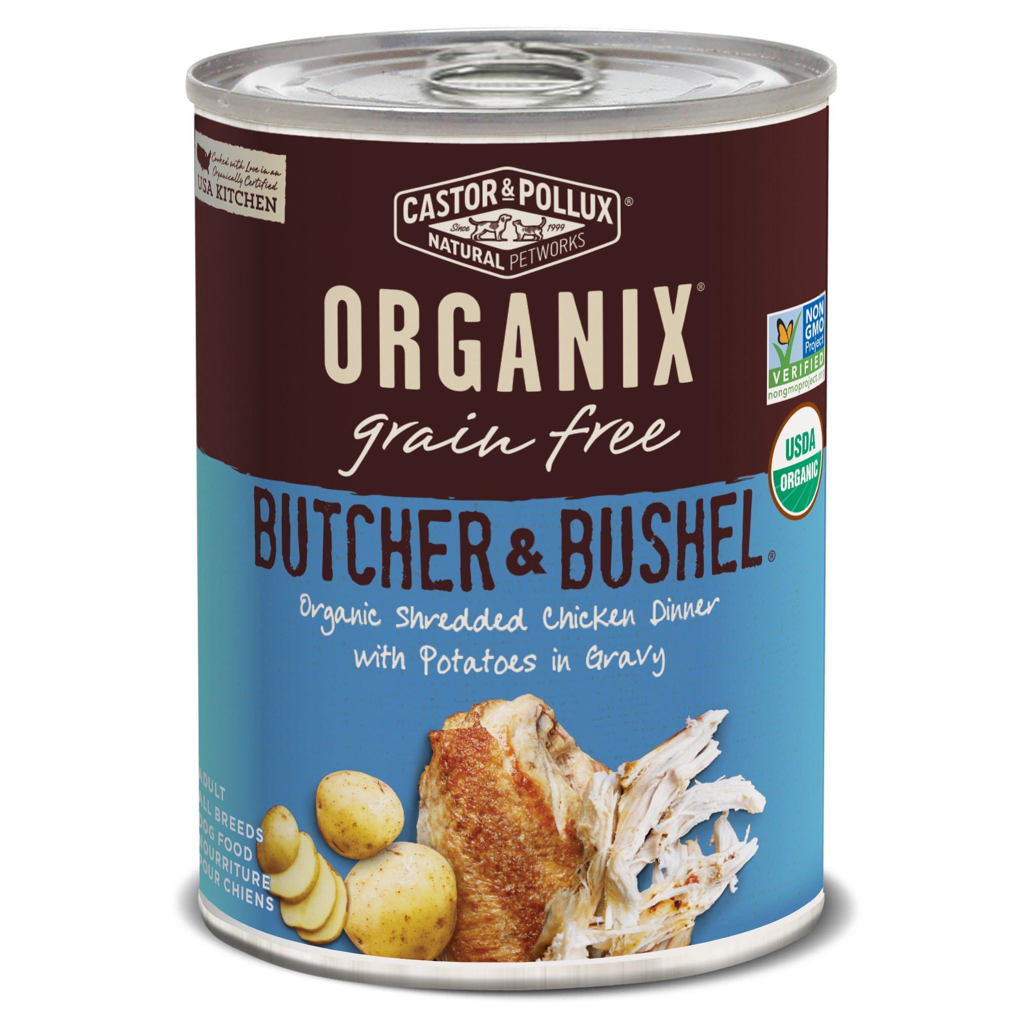 Amazon.com : Castor & Pollux Organix Organic Grain Free Organic ...