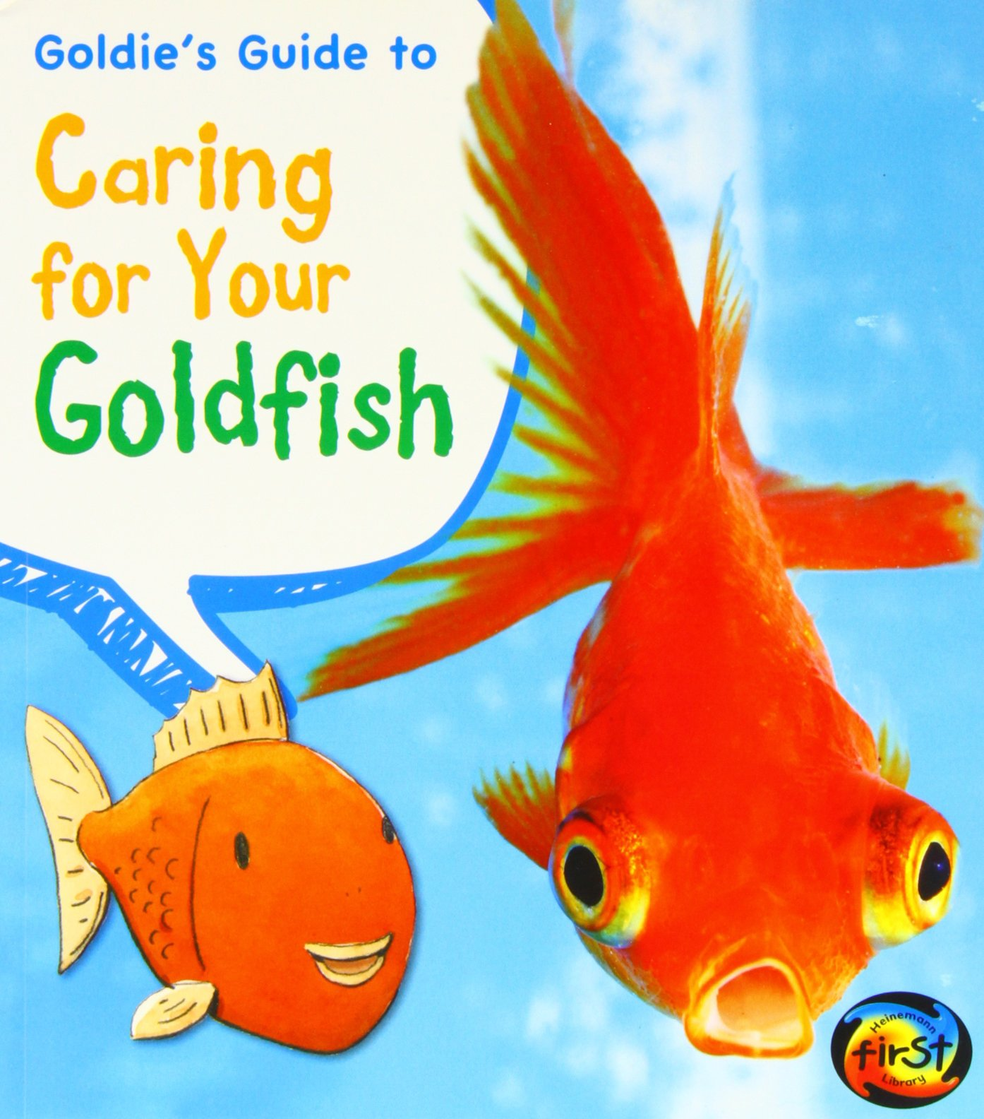 Fancy goldfish: complete guide to care and collecting: erik l.