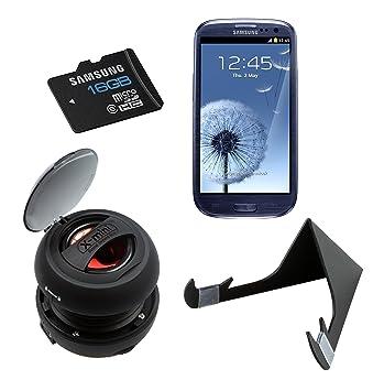 Samsung - Pack de accesorios para Samsung Galaxy S3 (altavoz ...