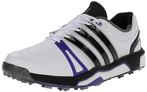 best service 16480 92dda Adidas Mens Asym RH Energy Boost Golf Shoe, Running WhiteCore BlackNight