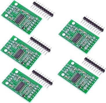 5PCS Weighing Sensor 24 Bit HX711 Dual Channel Precision A//D Pressure Sensor