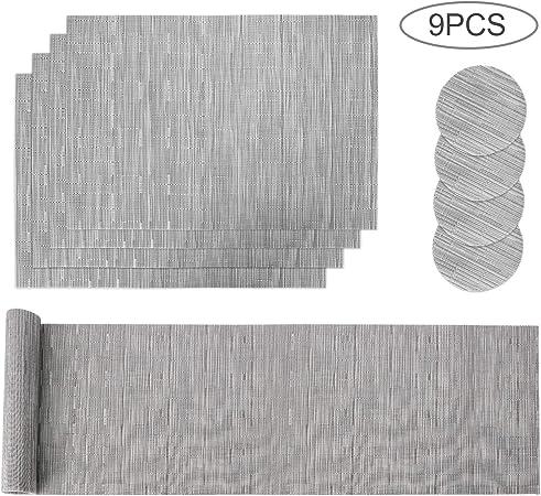 Pratique de Cuisine Dîner Tapis Table Mat PVC Mat Coasters Accessoires Cuisine