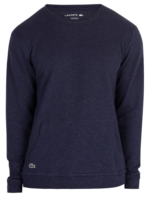Lacoste Herren Pyjama-Oberteil mit Langen Ärmeln, Blau Blau Blau B07GFL25J9 Schlafanzugoberteile Einzelhandelspreis 490813