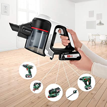 Bosch - Aspirador inalámbrico Unlimited Serie 6 BCS61BAT2 2 baterías Intercambiables: Amazon.es: Hogar