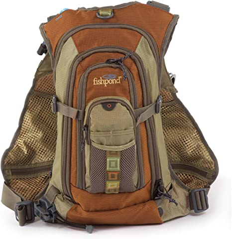 FishPond Wasatch Tech Pack - Chaleco de Pesca con Mosca - WTP-D, Talla única, Driftwood: Amazon.es: Deportes y aire libre