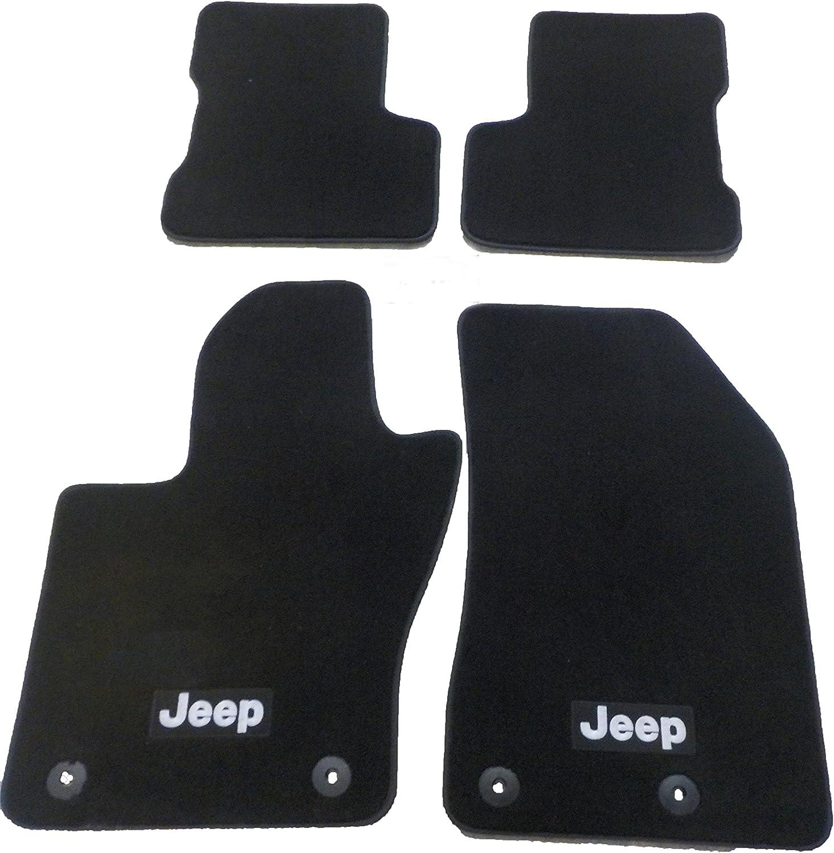 2018-2019 Jeep Wrangler JL 4 Door Unlimited Premium Carpet Floor Mats Mopar OEM