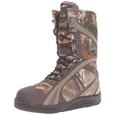 Muck Boot Pursuit Shadow Rubber Lightweight Insulated Scent-Masking Lace-Up Men's Hunting Boot | Hiking Boots