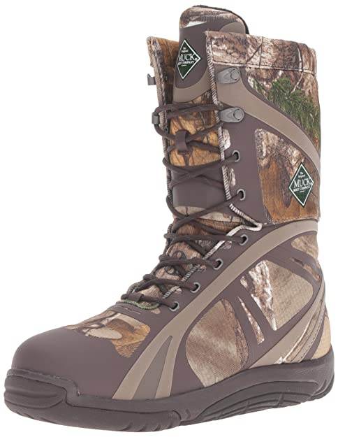 ebc4c2d58f0684 Muck Pursuit Shadow Rubber Lightweight Insulated Scent-Masking Lace-Up  Men s Hunting Boots
