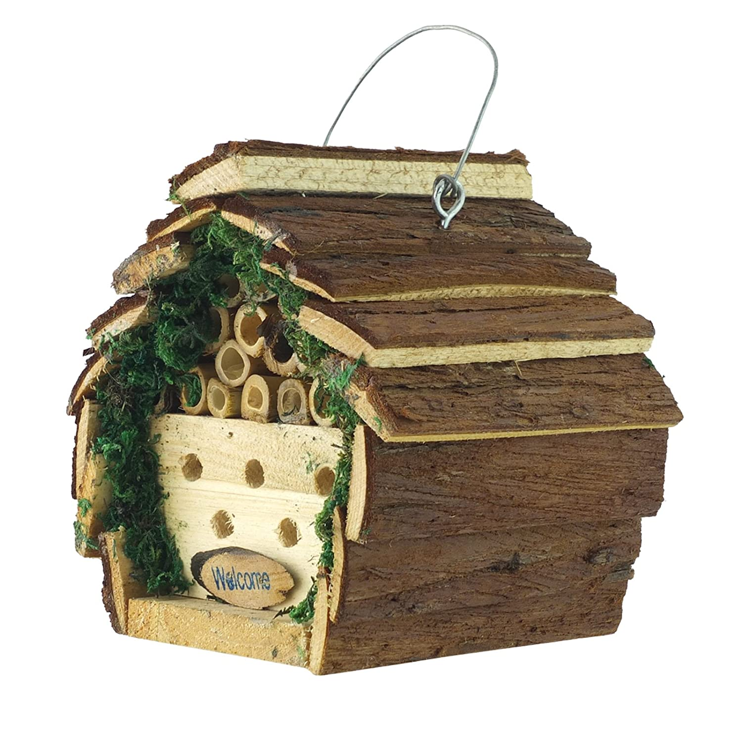 Insect / Bee/ Bug House / Hotel / Shelter Box For Garden, Lawn (Pack of 1) Bid Buy Direct