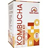 Bucha Brewers Kombucha Starter Kit with Everything You Need to Brew Kombucha at Home. Kombucha Brewing Kit with SCOBY, Starte