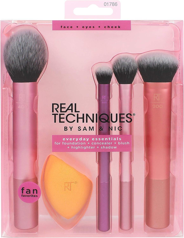 Real Techniques Kit Completo De Brochas, 200 g, Pack de 1